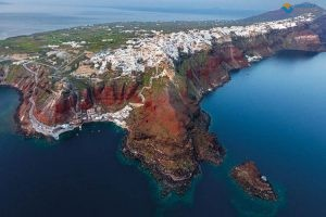 Geological tour of Santorini
